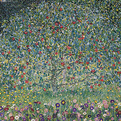 Apple Tree I, 1912 | Klimt | Gemälde Reproduktion