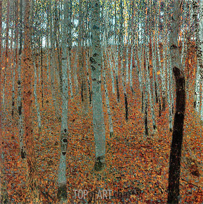 Beech Forest I (Buchenwald), c.1905 | Klimt | Painting Reproduction