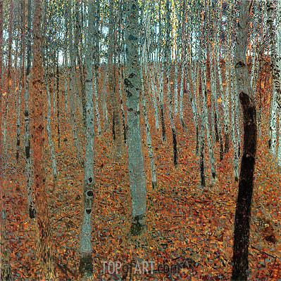 Klimt | Beech Forest I (Buchenwald), c.1905
