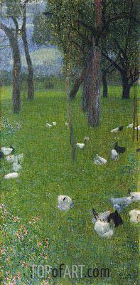After the Rain, 1899 | Klimt | Gemälde Reproduktion