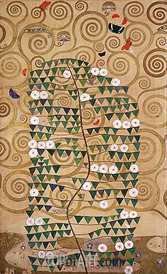 Shrub (Stoclet Frieze), c.1905/06 | Klimt | Gemälde Reproduktion