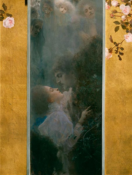 Love, 1895 | Klimt| Painting Reproduction