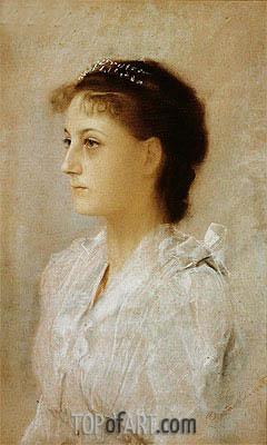 Klimt | Emilie Floge, 1891