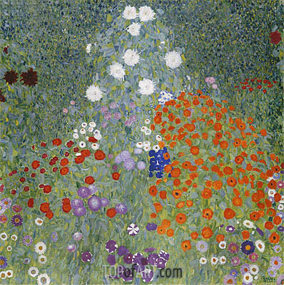 Flower Garden, c.1905/07 | Klimt | Painting Reproduction