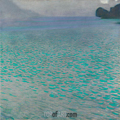 Attersee I, 1901 | Klimt| Painting Reproduction