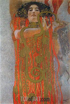 Klimt | Hygieia (detail from Medicine), c.1900/07