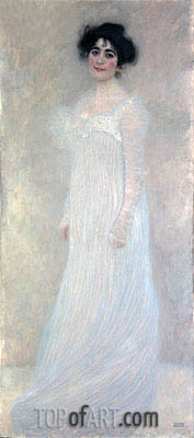 Serena Pulitzer Lederer, 1899 | Klimt| Painting Reproduction