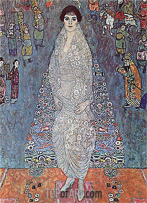 Portrait of Baroness Elizabeth Bachofen-Echt, c.1915/16 | Klimt | Painting Reproduction