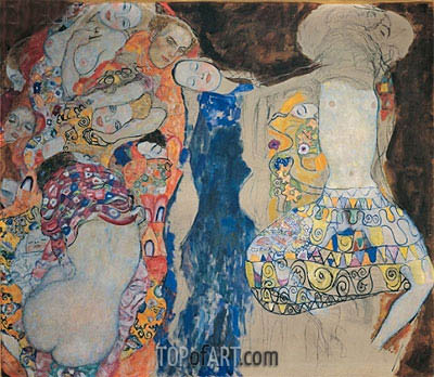 The Bride, 1918 | Klimt | Painting Reproduction