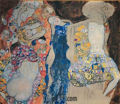 The Bride, 1918 | Klimt | Gemälde Reproduktion