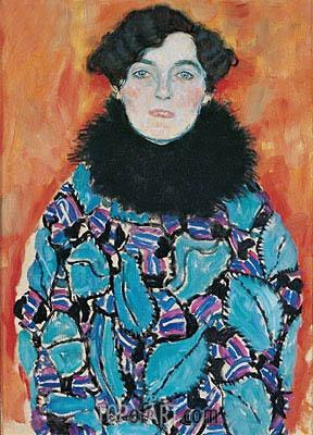 Klimt | Portrait of Johanna Staude, c.1917/18