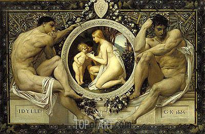 Klimt | Idylle, 1884