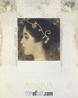 Junius, 1896 | Klimt| Painting Reproduction