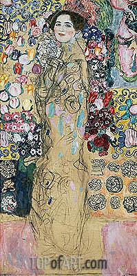 Klimt | Portrait of a Woman (Ria Munk), c.1917/18