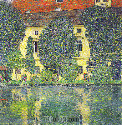 Kammer Castle at Attersee III, 1910 | Klimt | Gemälde Reproduktion