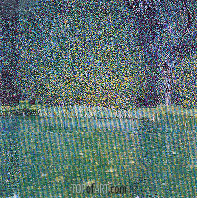 The Park of Schloss Kammer, c.1910 | Klimt | Painting Reproduction