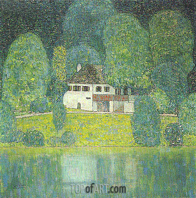 Klimt | The Litzlbergkeller on the Attersee, c.1912/16
