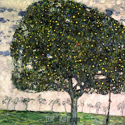 Klimt | The Apple Tree II, 1916