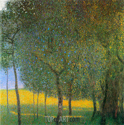 Klimt | Fruit Trees, 1901