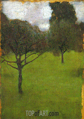 Orchard, 1898 | Klimt | Painting Reproduction
