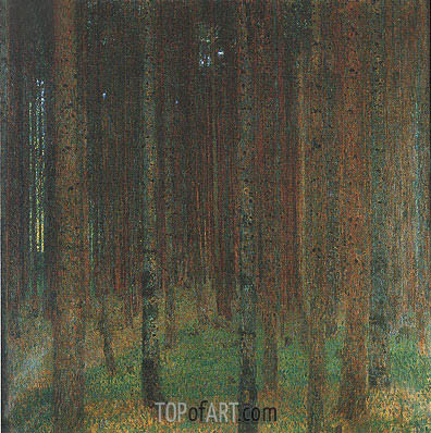 Pine Forest II, 1901 | Klimt | Painting Reproduction