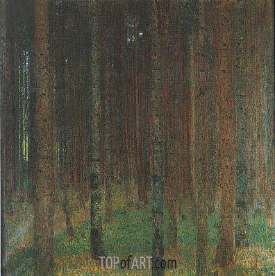 Pine Forest II, 1901 | Klimt | Gemälde Reproduktion