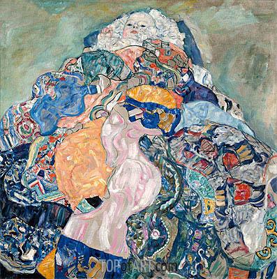 Baby (Cradle), c.1917/18 | Klimt | Gemälde Reproduktion