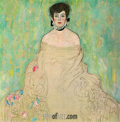 Klimt | Portrait of Amalie Zuckerkandl, c.1917/18