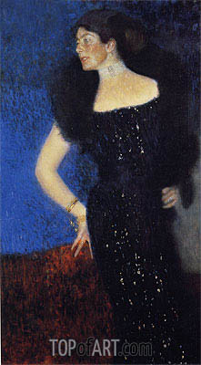 Klimt | Portrait of Rose von Rosthorn-Friedmann, c.1900/01