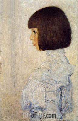 Portrait of Helene Klimt, 1898 | Klimt | Painting Reproduction