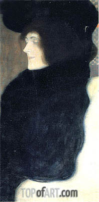 Pale Face, 1903 | Klimt | Painting Reproduction