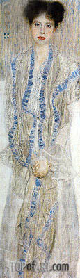 Portrait of Gertrud Loew, 1902 | Klimt | Painting Reproduction