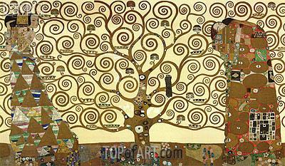 Klimt | The Tree of Life - Stoclet Frieze, c.1905/06
