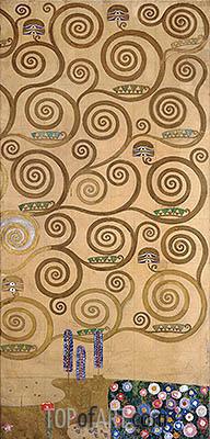 Klimt | Right-Hand Edge (Stoclet Frieze), c.1905/06