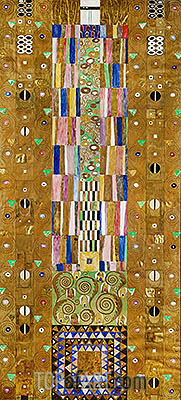 The Knight (Stoclet Frieze), c.1905/06 | Klimt | Painting Reproduction