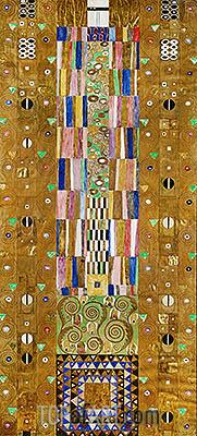Klimt | The Knight (Stoclet Frieze), c.1905/06
