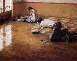 The Floor Scrapers (variation) | Caillebotte | Painting Reproduction