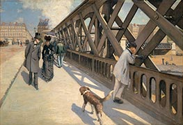 The Pont de Europe | Caillebotte | Painting Reproduction