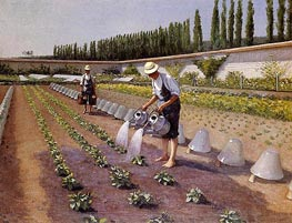 The Gardeners | Caillebotte | Painting Reproduction