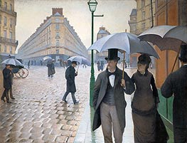 Paris Street; Rainy Weather, 1877 von Caillebotte | Gemälde-Reproduktion