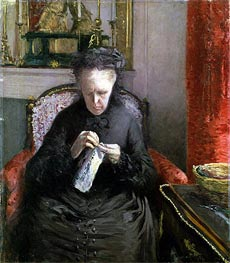 Portrait of Madame Martial Caillebotte | Caillebotte | Painting Reproduction