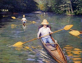 Skiffs | Caillebotte | outdated