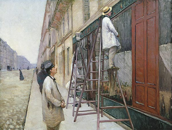 The House Painters, 1877 | Caillebotte | Painting Reproduction