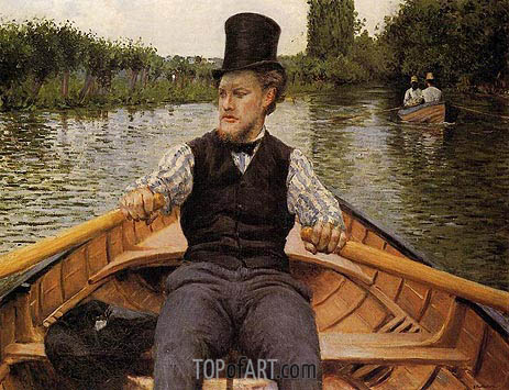 Boating Party, 1877 | Caillebotte | Painting Reproduction