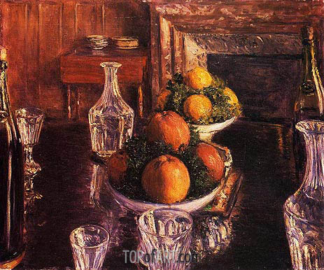 Still Life, 1879 | Caillebotte | Painting Reproduction