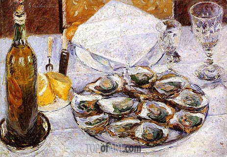 Caillebotte | Still Life with Oysters, 1881