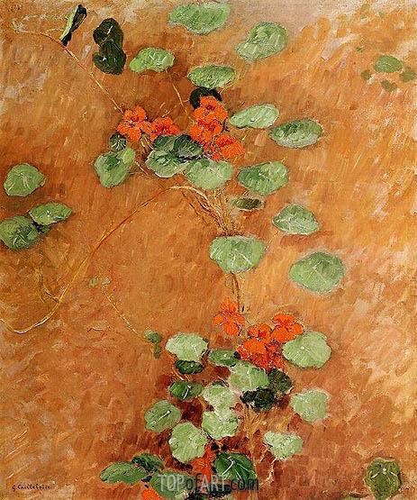 Caillebotte | Nasturtiums, 1892