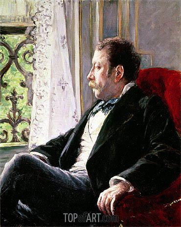Caillebotte | Portrait of a Man, 1880
