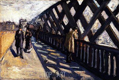 Caillebotte | Study for Le Pont de l'Europe, 1876