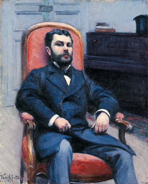 Caillebotte | Portrait of Richard Gallo, 1878